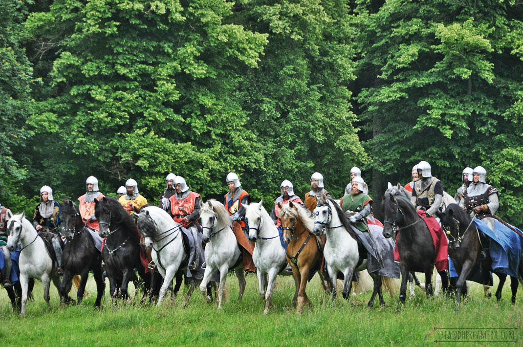 Medieval Battle on Horses
