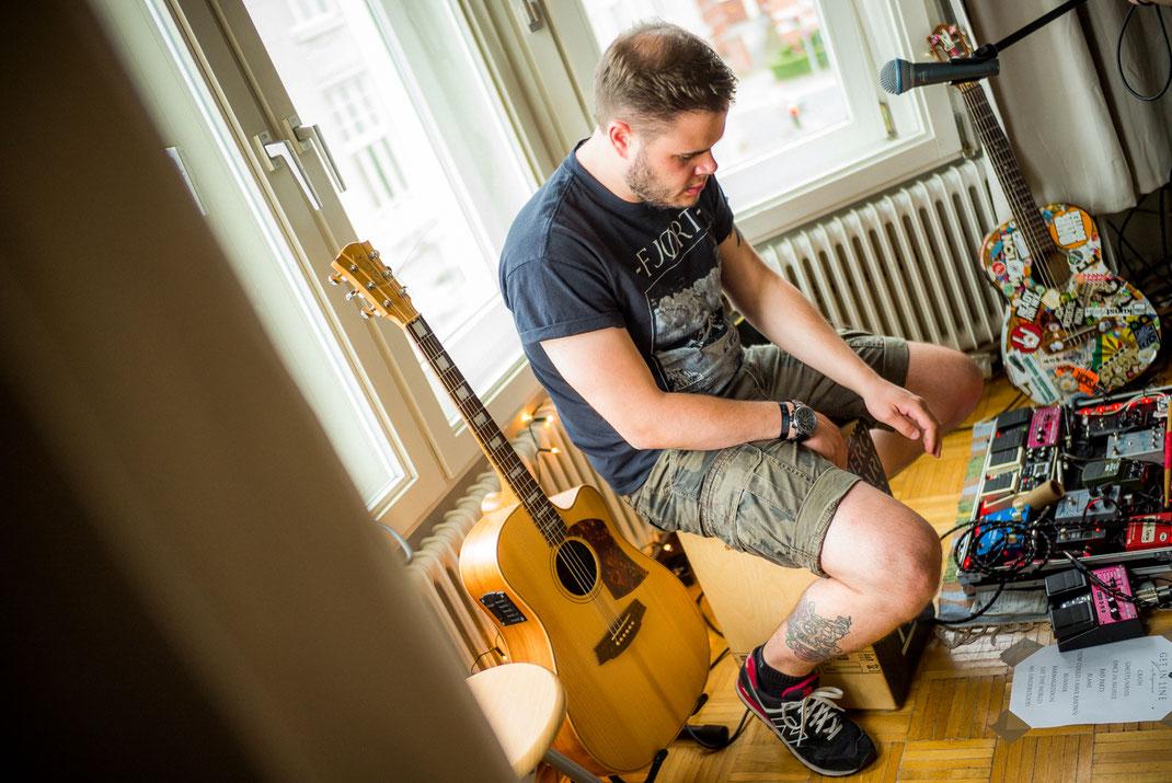 Musiker beim Spielen