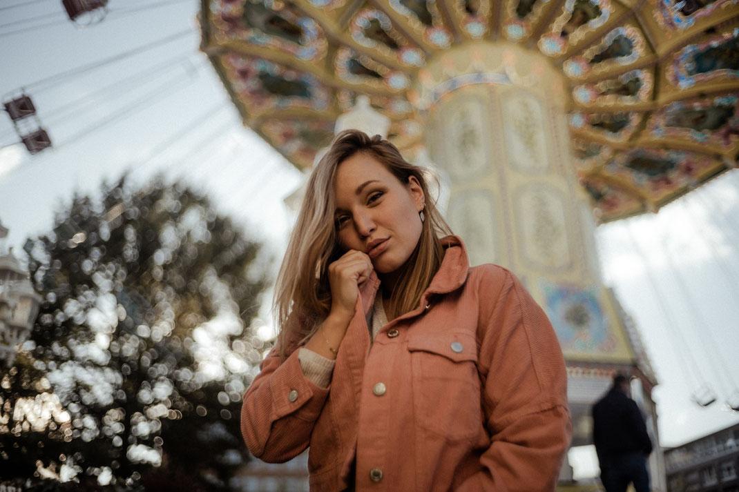 Fotoshooting auf der Kirmes in Bremen