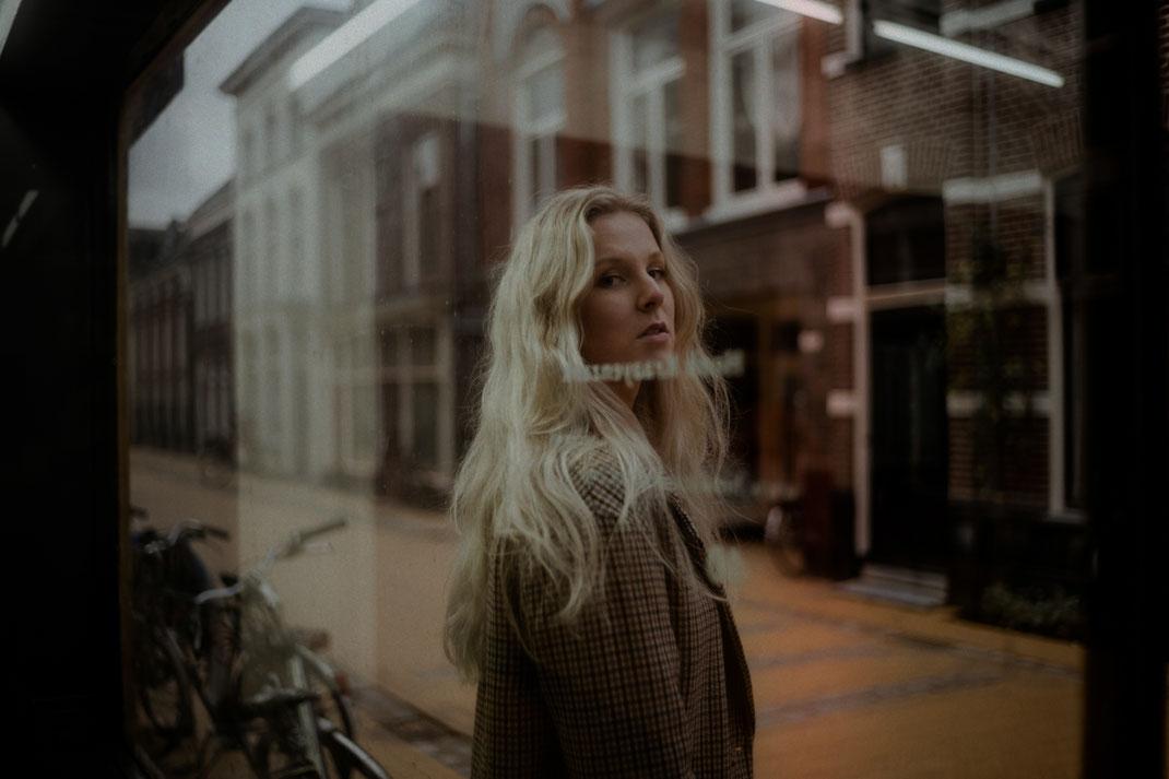 Fotoshooting in der Innenstadt von Groningen
