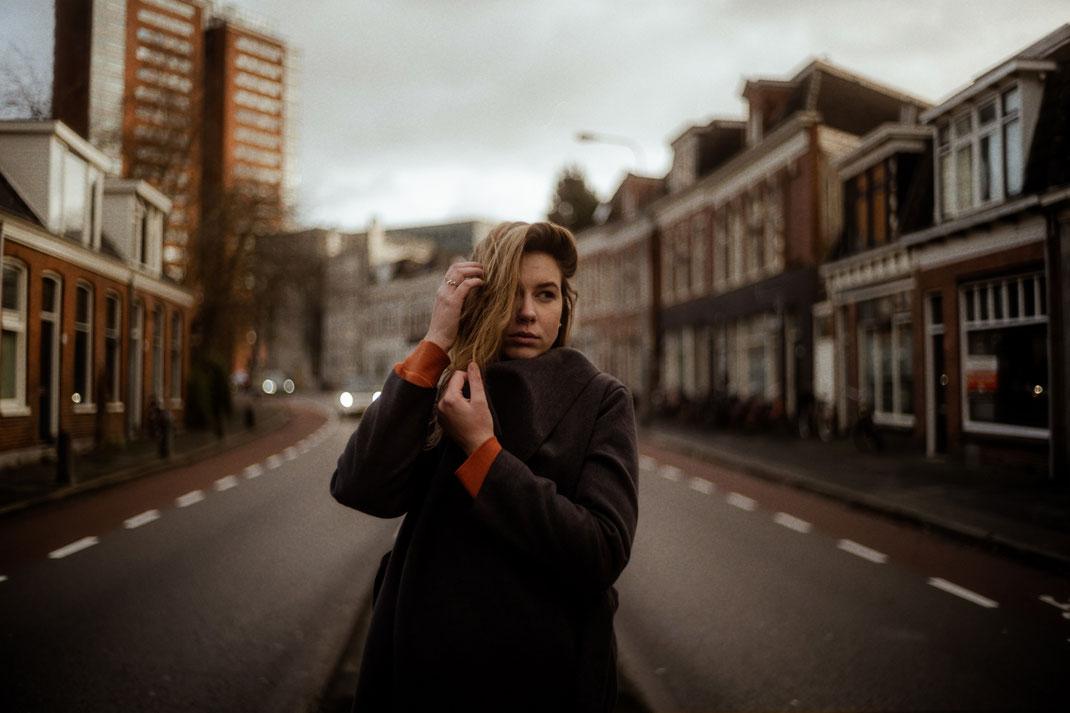 Fotoshooting mit Annabel in Groningen