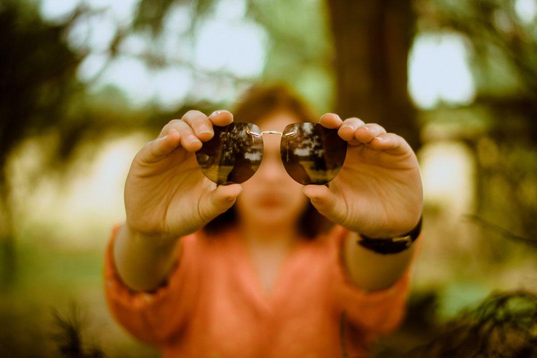 Foto einer Sonnenbrille