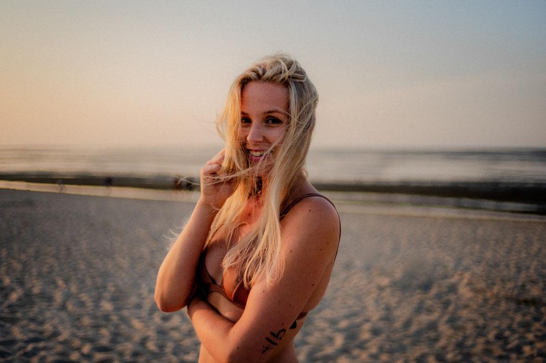 Fotoshooting an der Nordseeküste