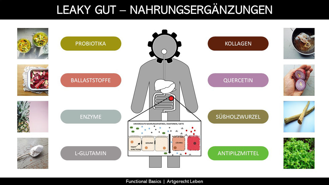 Leaky Gut Syndrome Nahrungsergänzungen