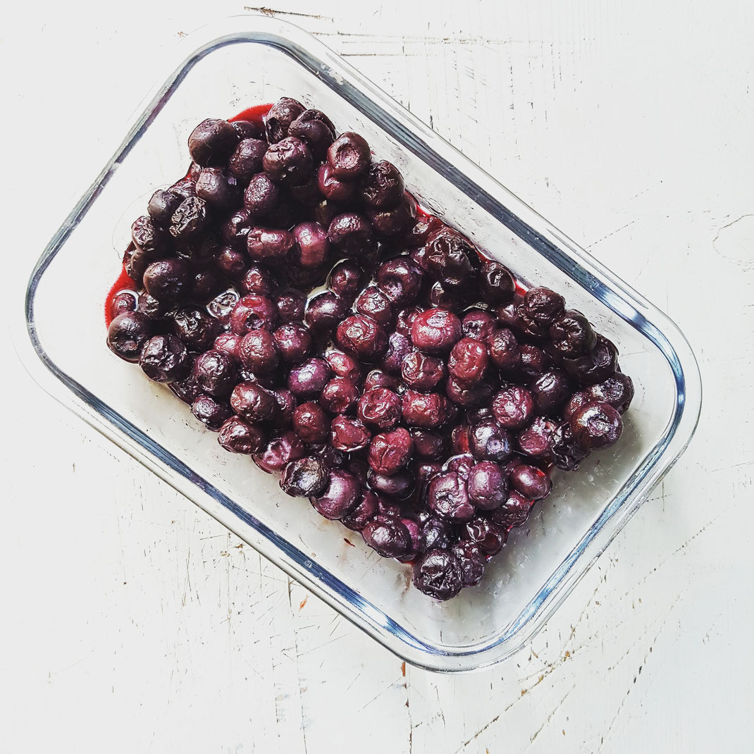 Blaubeer Eis Rezept