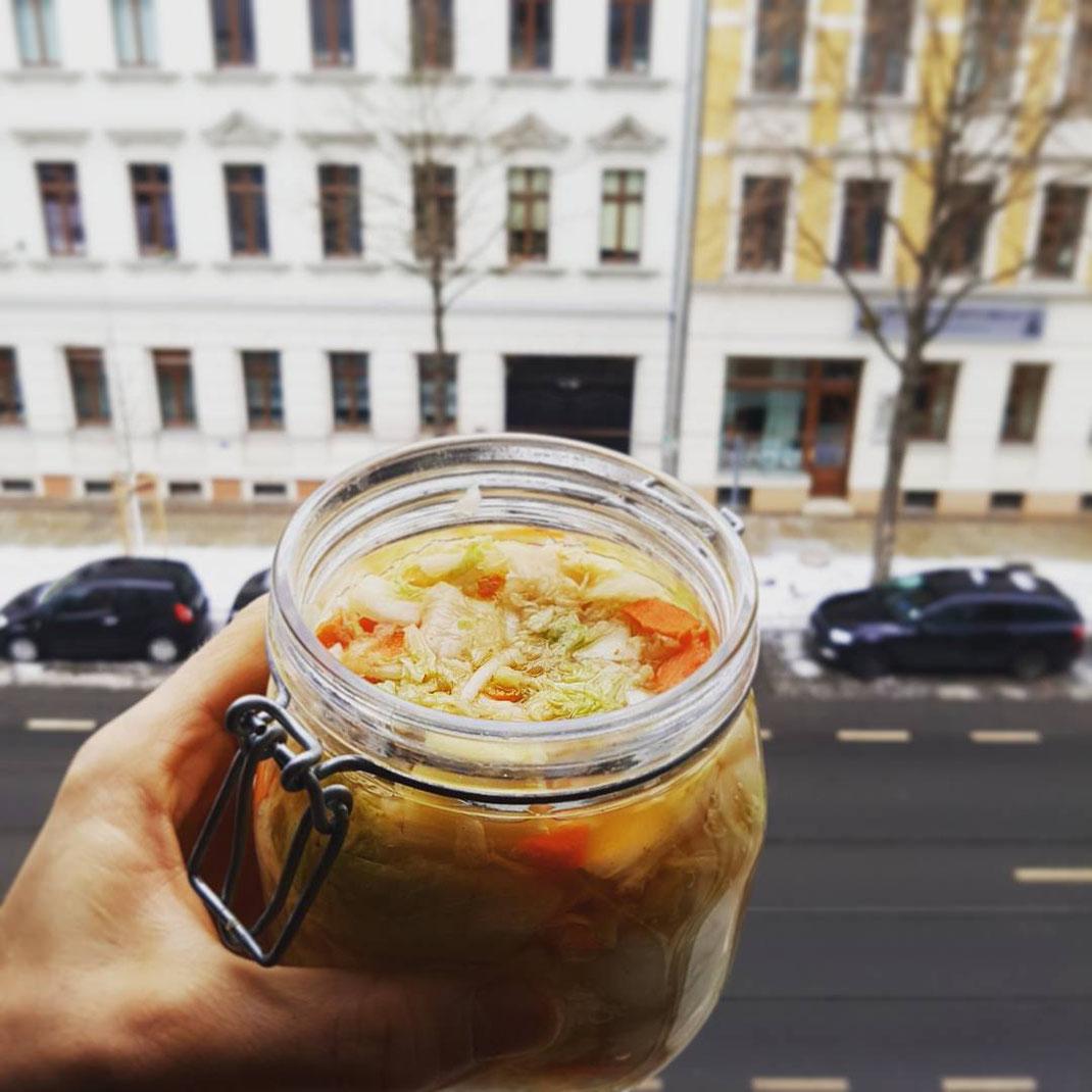 Kimchi fermentieren