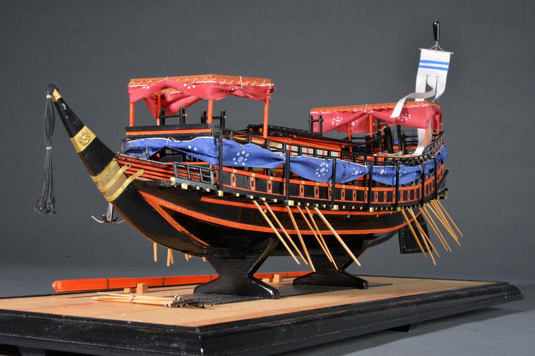 44-29 TAIHO-MARU Period:1710 Nationality: Japanese Scale: 1:62 Built by: Taketoshi TANAKA