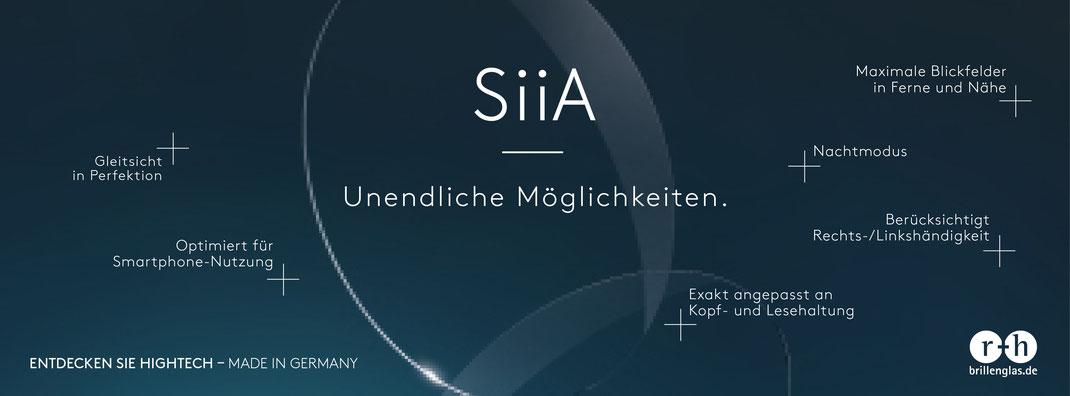 Glaeser von SiiA bei Optik und Schmuck Lampe in Gruenstadt