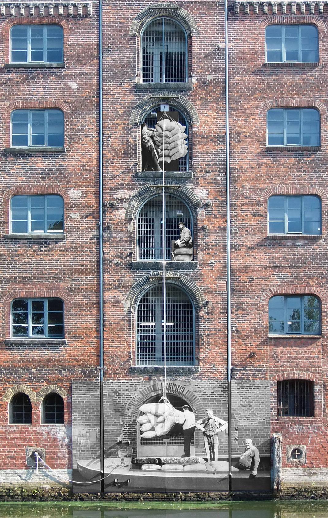 Historische Fotografien bringen das Baudenkmal zum Sprechen