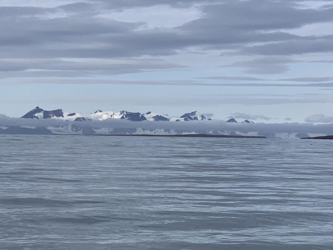 Spitzbergen, Svalbard, Fjord, Longyearbyen