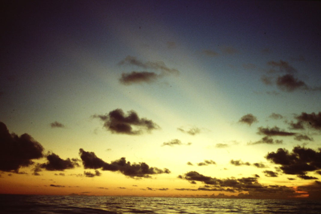 Atlantik, Überquerung, Segeltörn, Reisebericht, Reiseblog, Atlantik, Überquerung, Segeltörn, von Senegal nach Brasilien, Sonnenuntergang