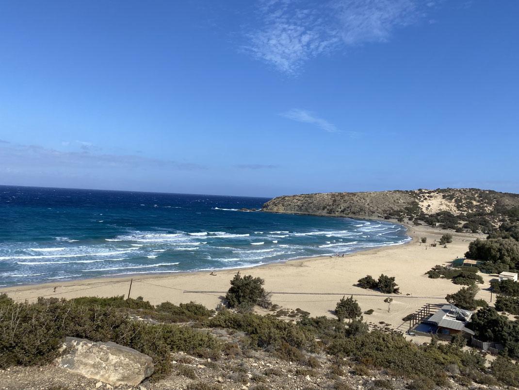 Kreta, Gavdos, Sarakiniko, Sandstrand, Beach