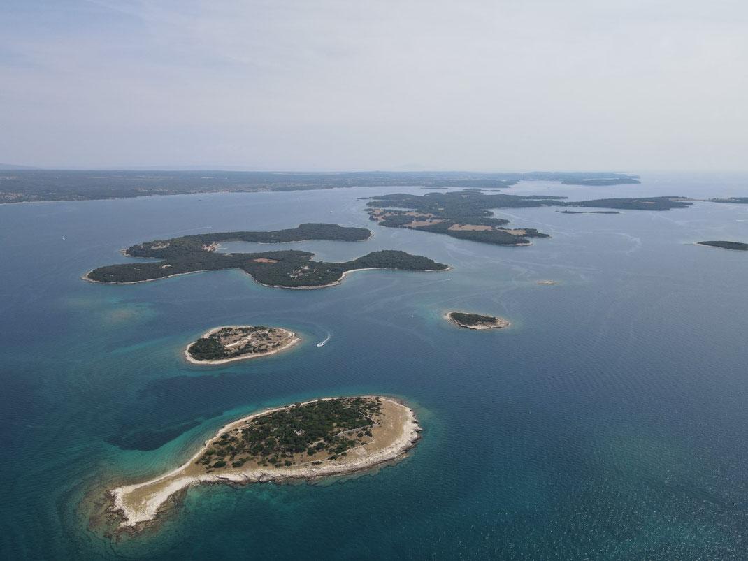 Brijuni Inseln, Otok Gaz, Fisch Insel