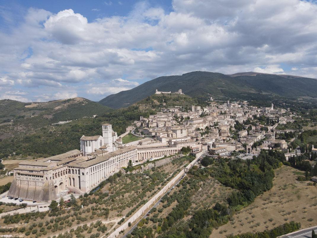Italien, Umbrien, Assisi, Sacro Convento di San Francesco d'Assisi, Basilika