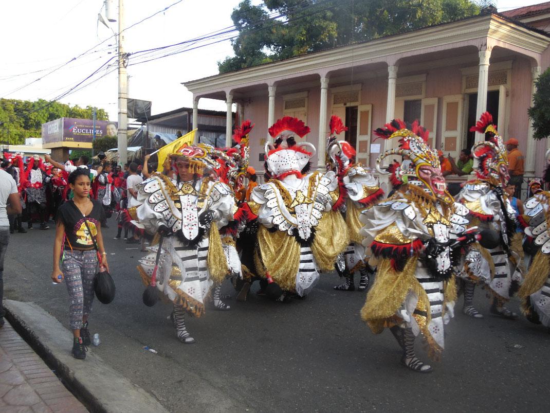 Dom Rep, Dominikanische Republik, Karneval, La Vega