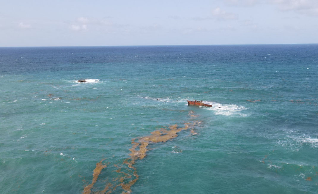 Punta Cana, Bavaro, Wrack, Schiffswrack