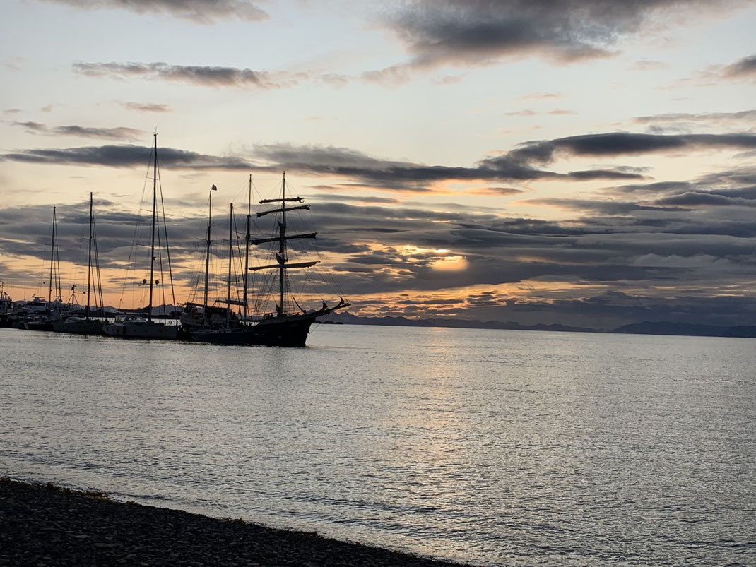Spitzbergen, Spitsbergen, Svalbard, Mitternachtssonne, Longyearbyen