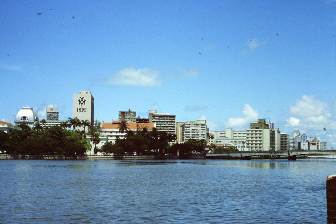 Brasil, Brasilien, Recife, Hafen, Zentrum, Skyline
