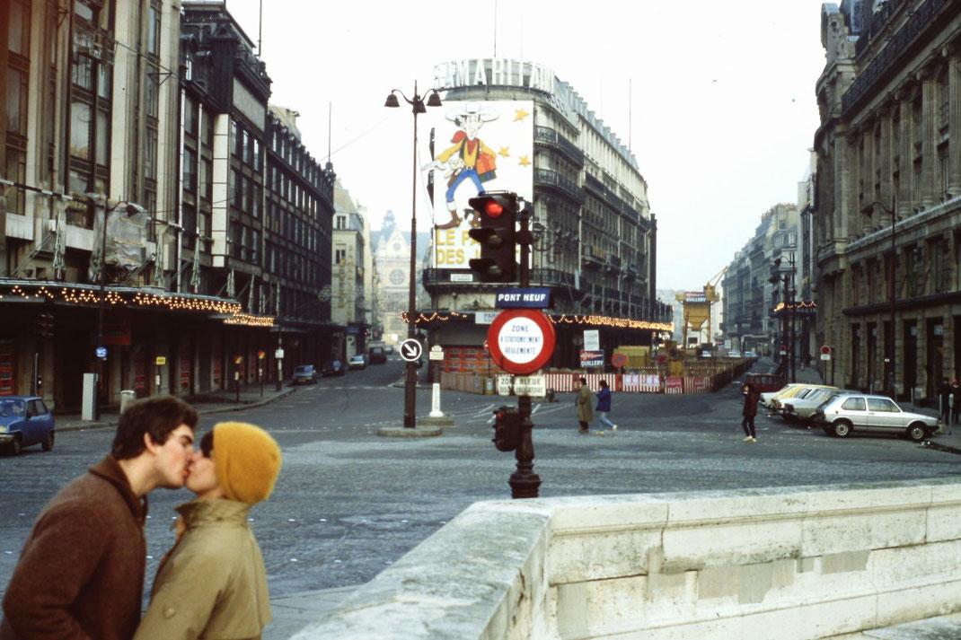 Paris, Pont Neuf, Stadt der Liebenden