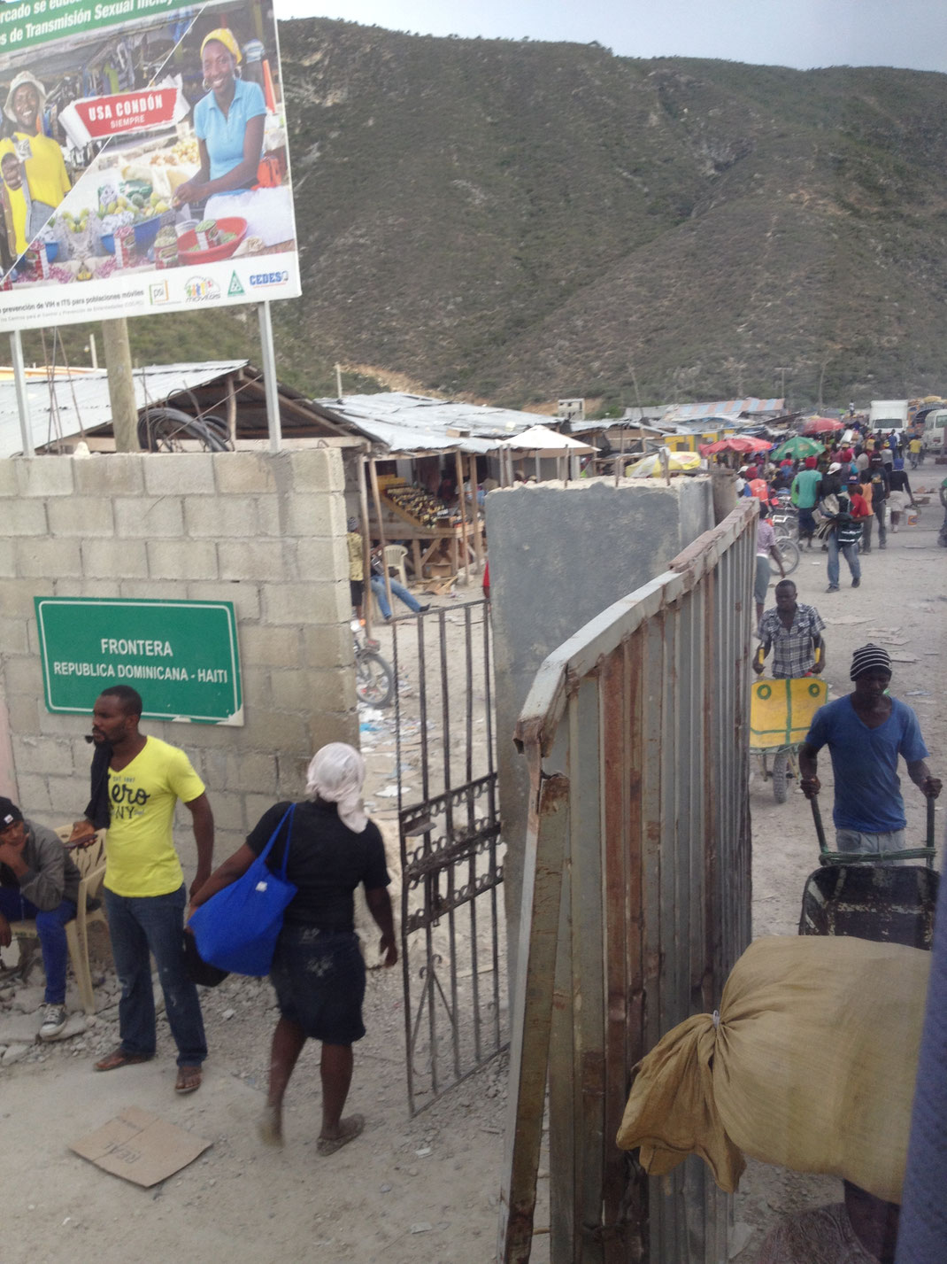 Dom Rep, Dominikanische Republik, Frontera, Grenze, Haiti, Caribe Tours
