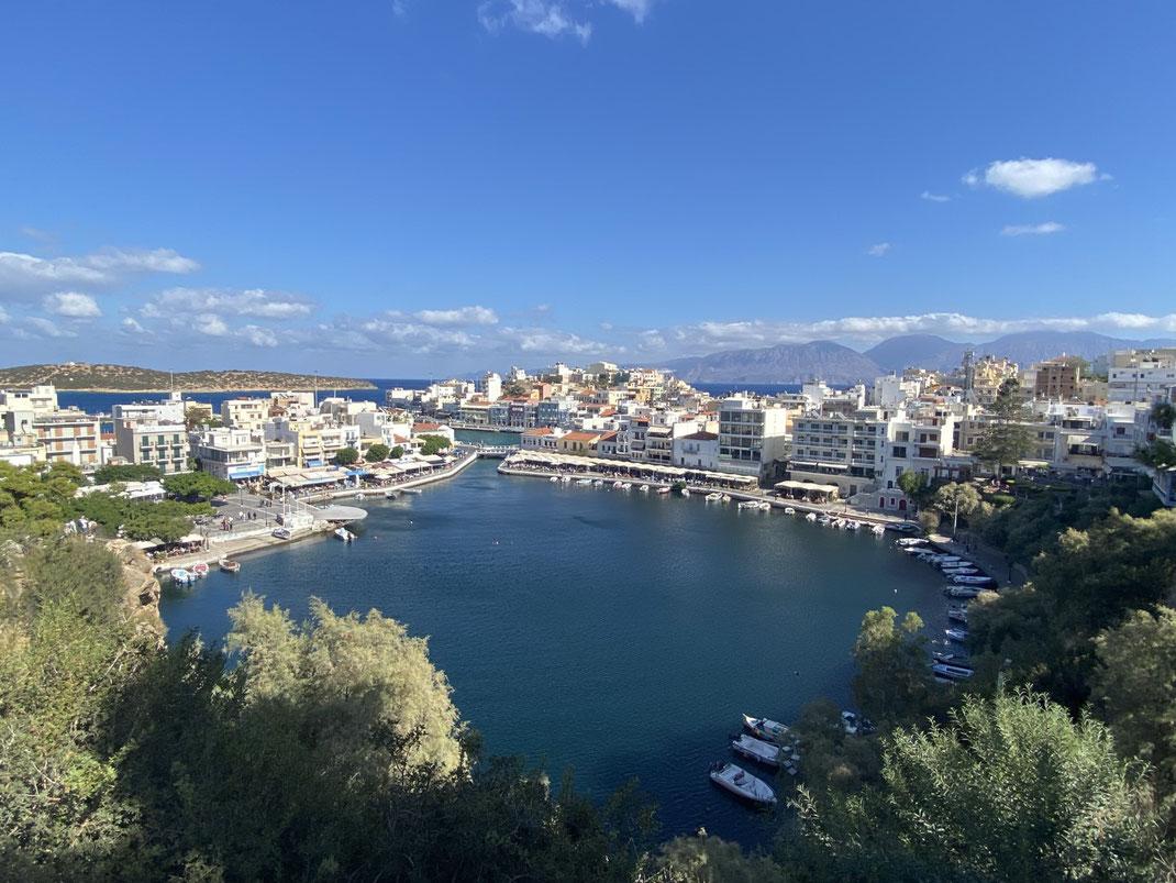 Agios Nikolaos - der See