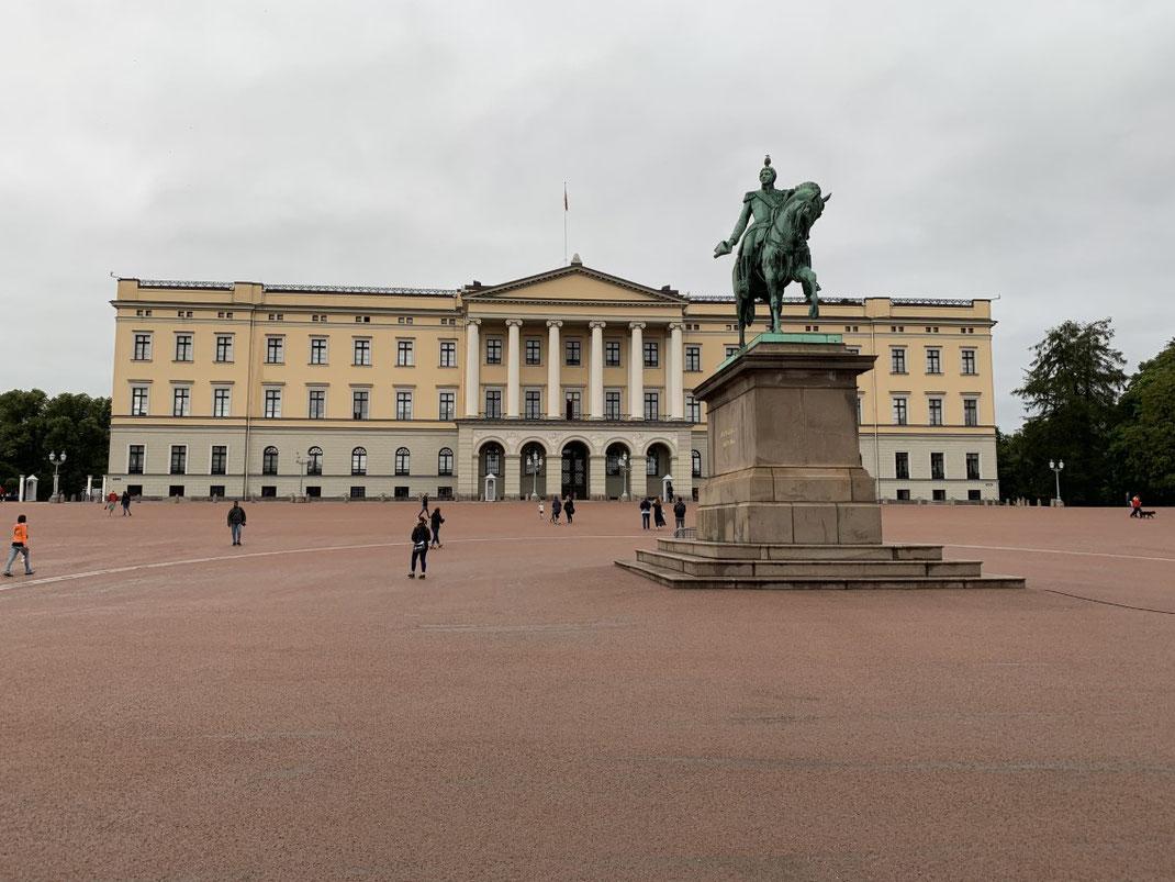 Norwegen, Oslo, Zentrum, Königshaus