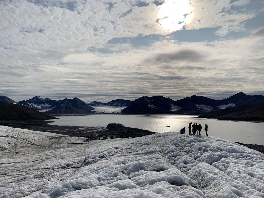 Spitzbergen, Svalbard, Gletscher, Fjord