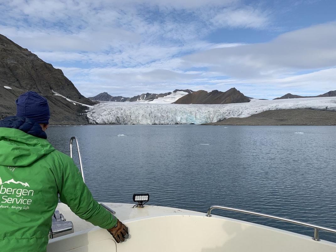 Spitzbergen, Svalbard, Gletscher,