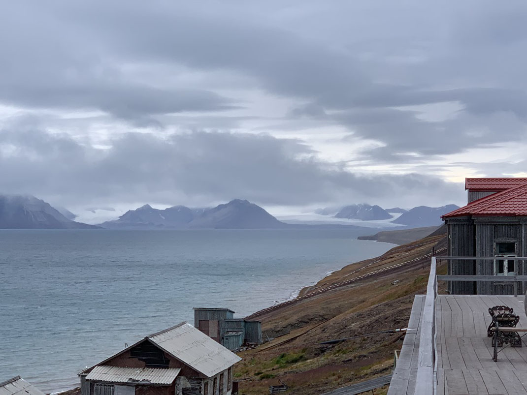Spitzbergen, Svalbard, Barentsburg, Islfjord