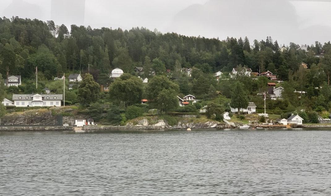 Oslo,Norwegen, Oslo Fjord