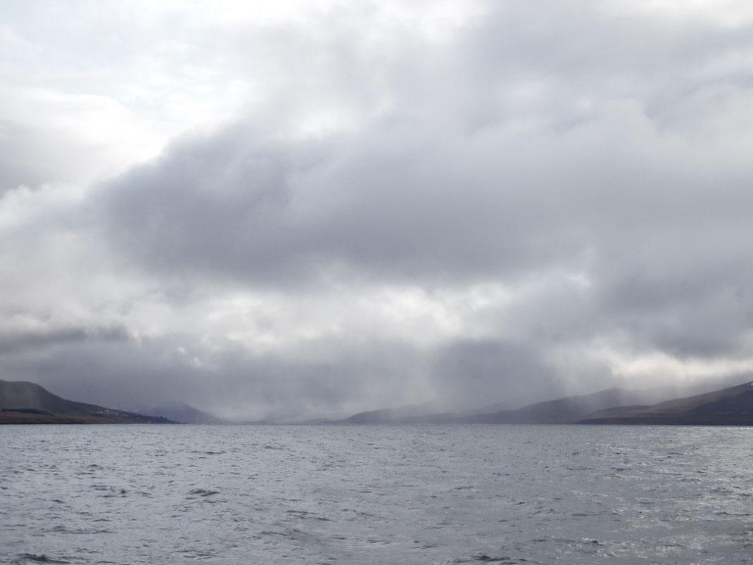 Spitzbergen, Svalbard, Barentsburg, Fjord