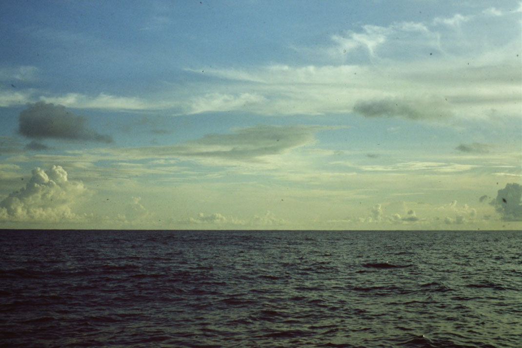 Reisebericht, Reiseblog, Atlantik, Überquerung, Segeltörn, von Senegal nach Brasilien, Abendstimmung,