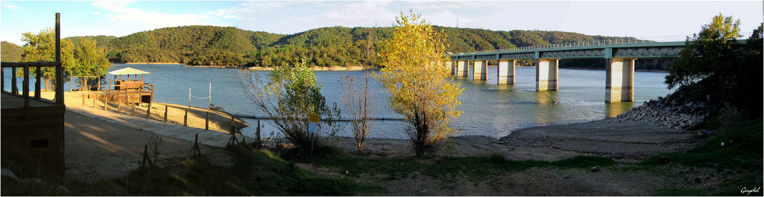 Fin de Journée sur le Lac de Saint Cassien