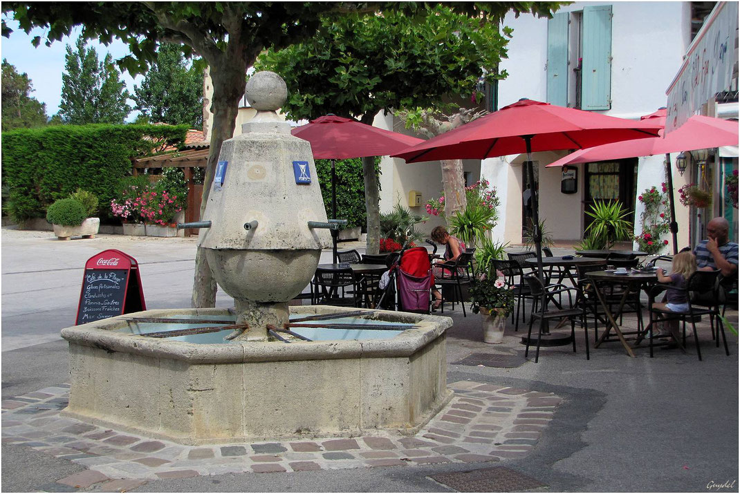 La Fontaine aux 6 Canons