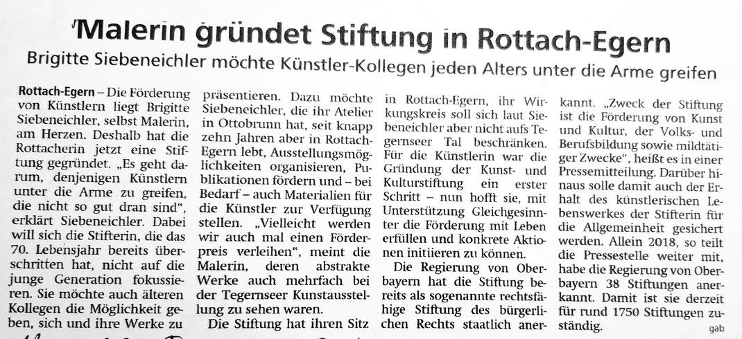 Tegernseer Zeitung vom 18.11.2019