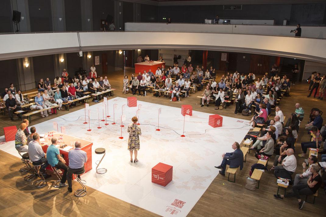 Frankfurter Bürger bringen sich in die Stadtentwicklungsplanung mit ein