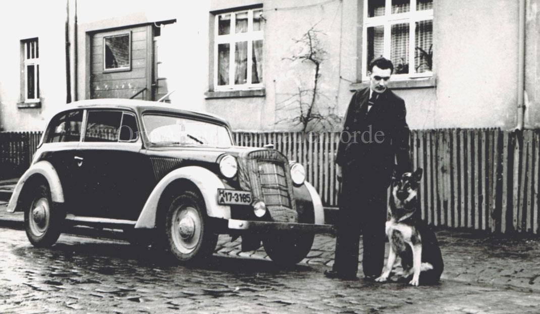 1930er Jahre - Unterstrasse  - vor Henke