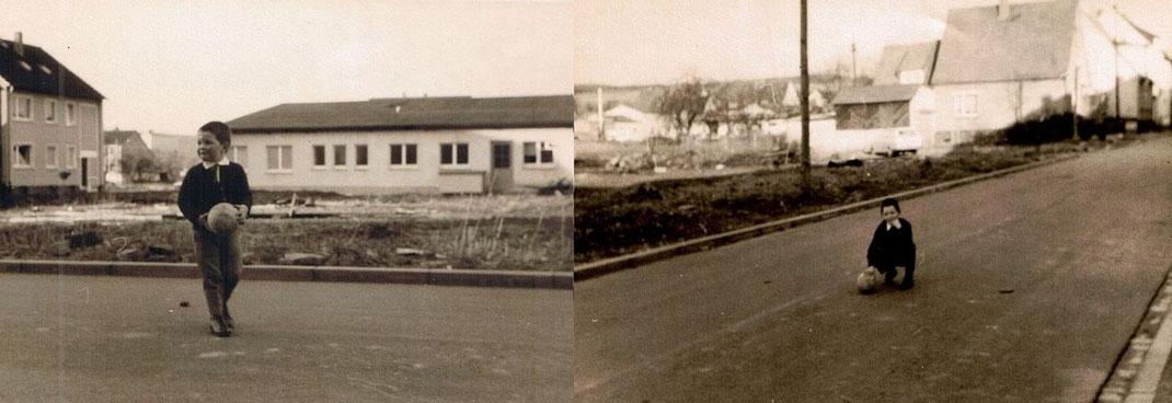 1966 Die Jakobstrasse ist fertig, ein idealer Bolzplatz