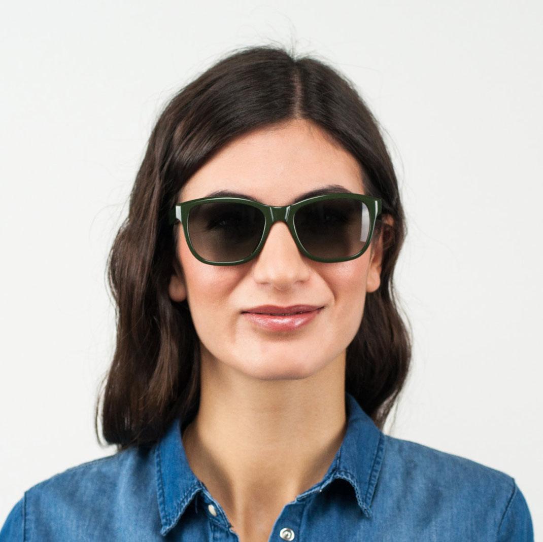 Damensonnenbrille für schmales Gesicht colibris Meta 0