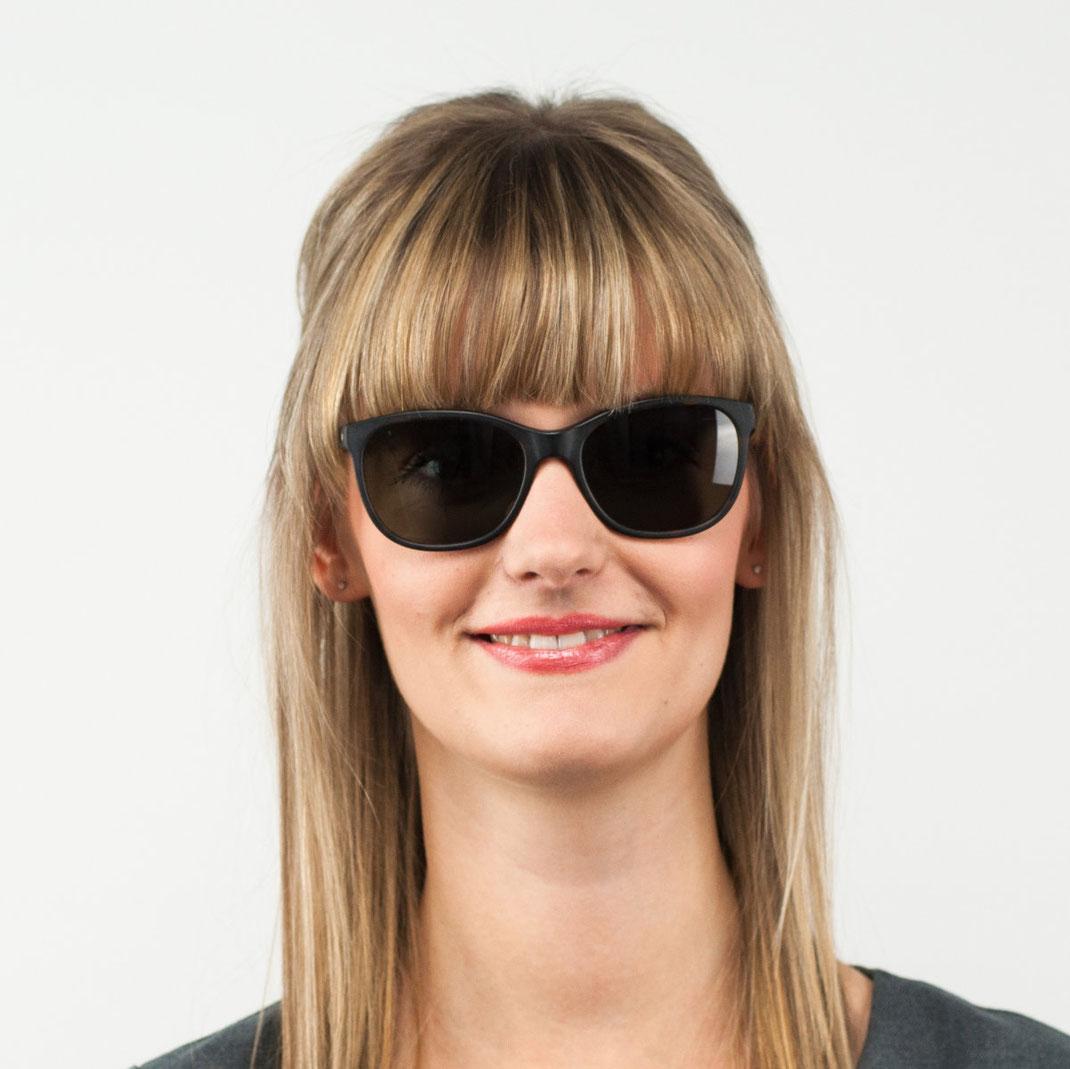 kleine Sonnenbrille von colibris Modell Hilde 09
