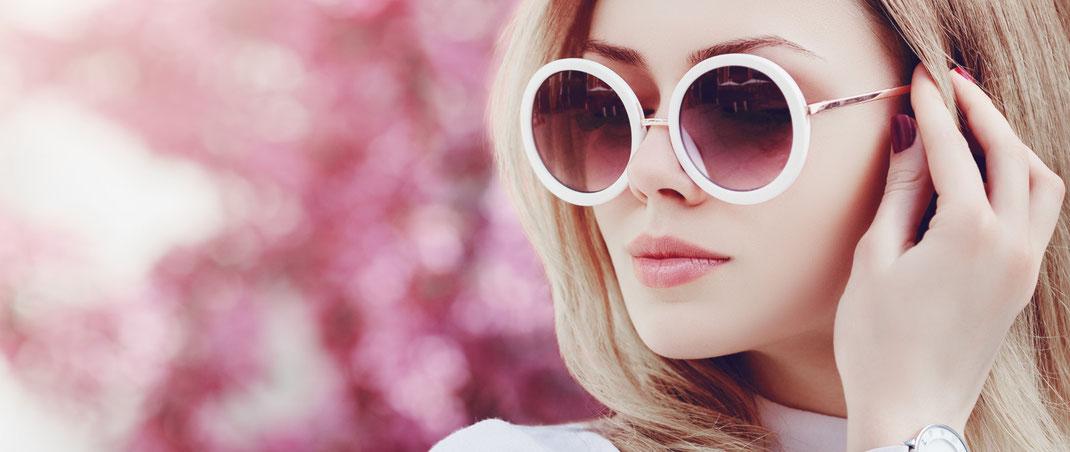 Sonnenbrillengläser mit Stärke und UV-Schutz