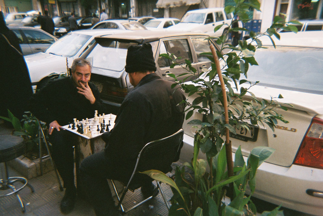 Mahmod Dayob, Damaskus