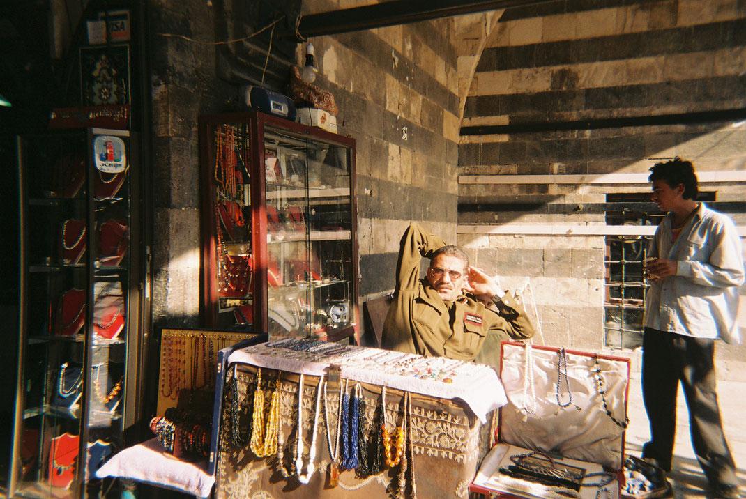 Roba Hamzeh, Damaskus