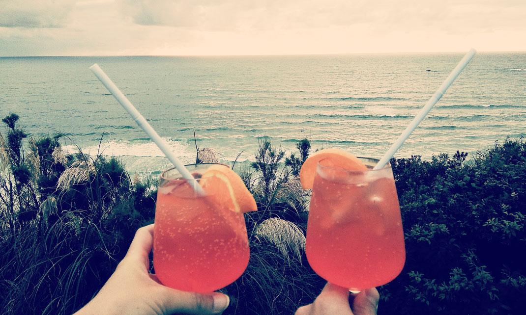 Beste Bar in Biarritz mit Meerblick