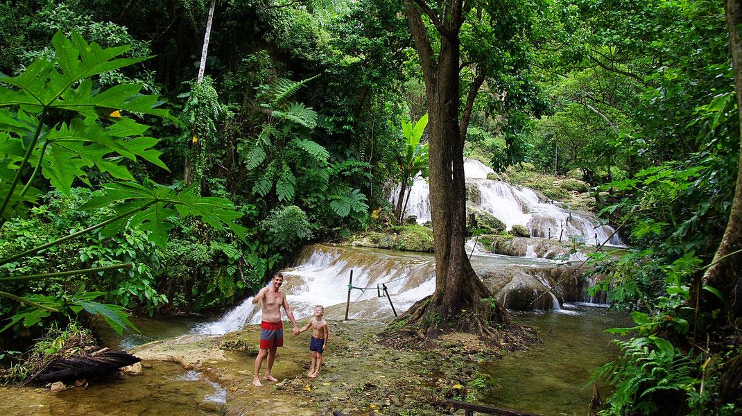 Les cascades de Mele