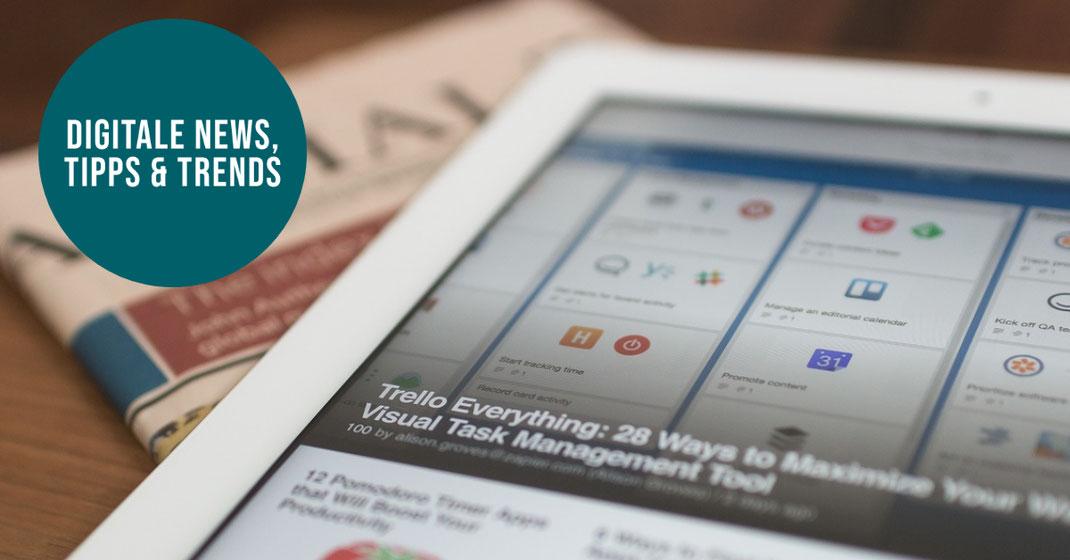 News Tipps Trends Internet, SEO, Social Media und Web-Technik