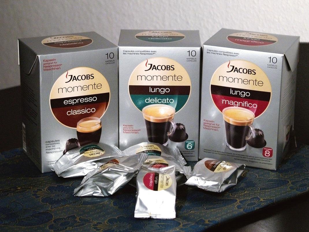 jacobs kapseln espresso und lungo genuss auf knopfdruck produkttests reviews patty testet. Black Bedroom Furniture Sets. Home Design Ideas