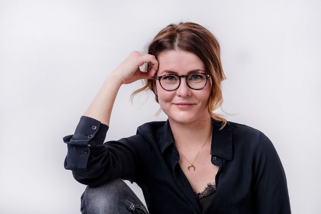 Businessfoto sympathisches Frauenportrait in Kiel