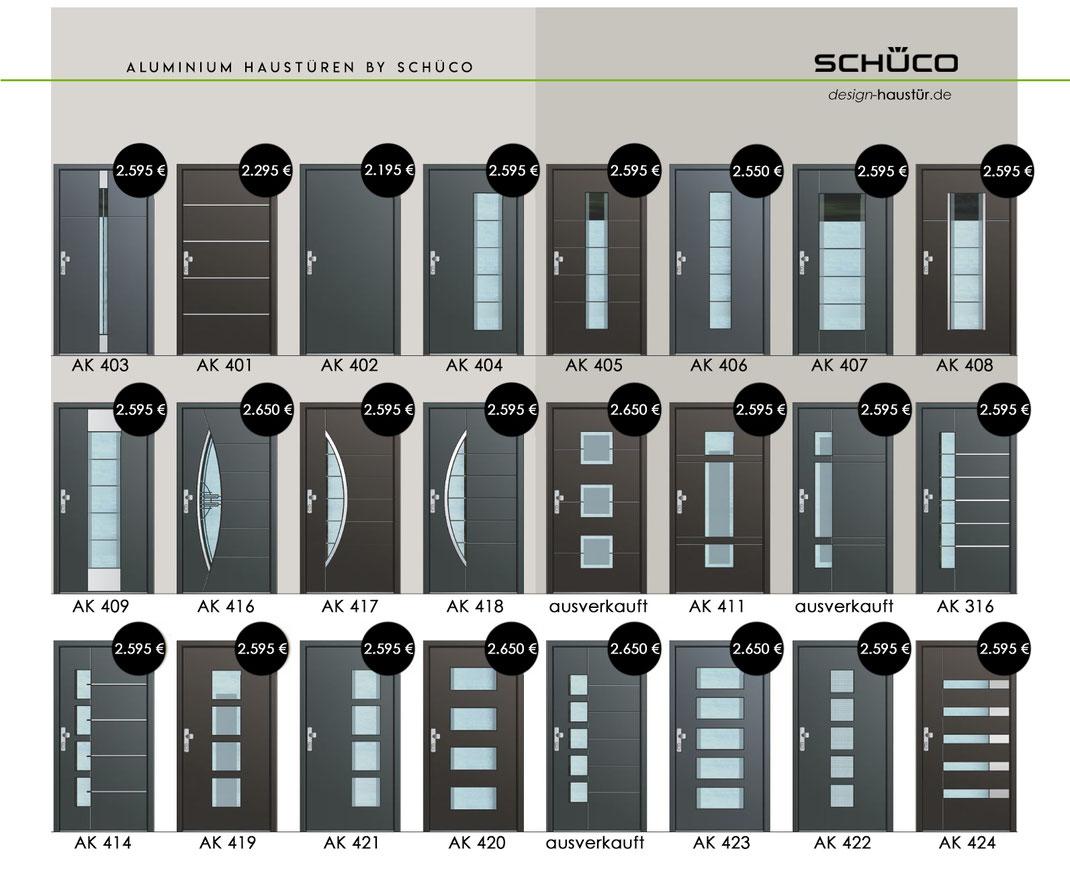 Schüco Aluminium Haustüren Aktion Preis