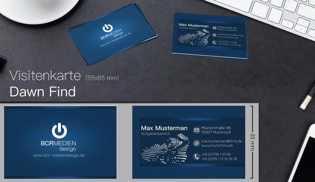 Visirenkarten Business Card Elegant Style